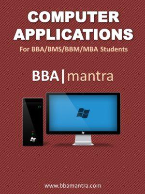 Computer Applications Notes