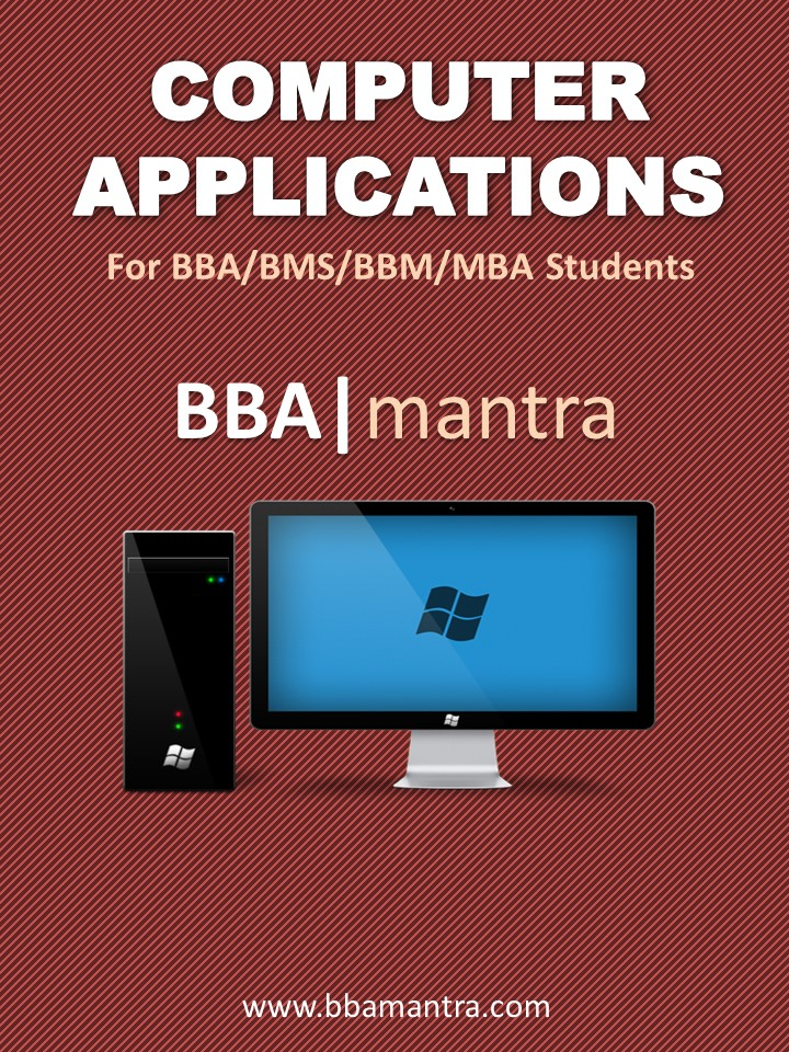 Computer Application Notes by BBA|mantra