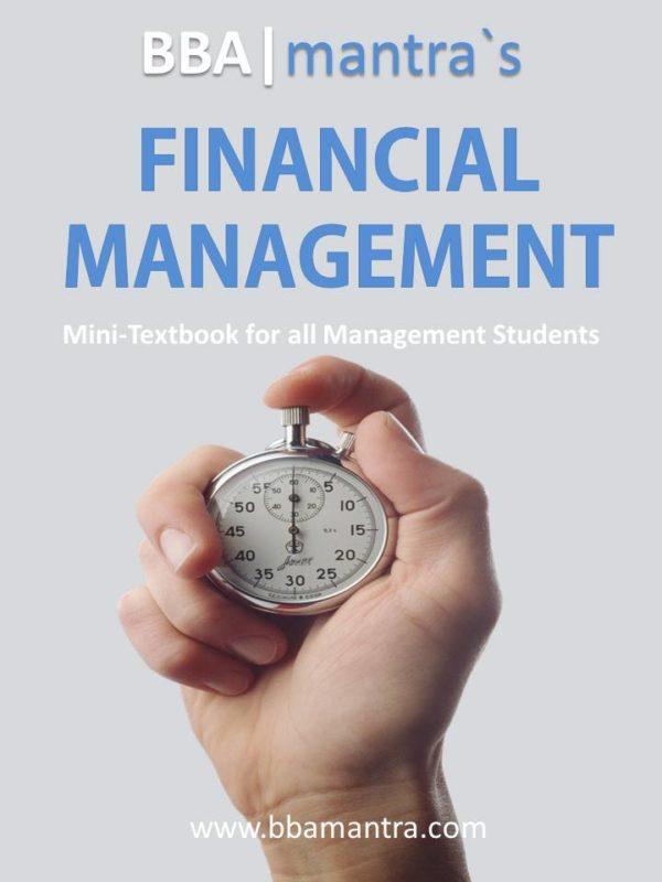 Financial Mangement Notes